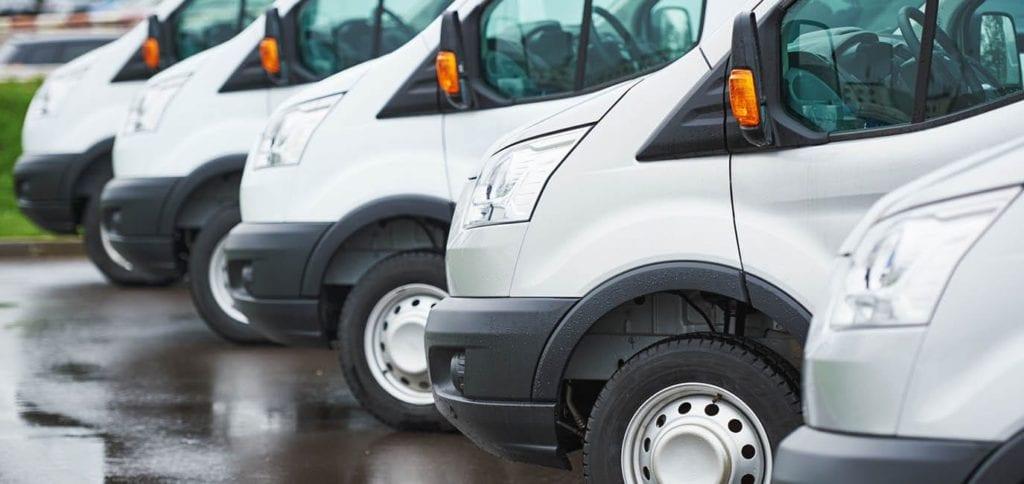photo: truck fleet